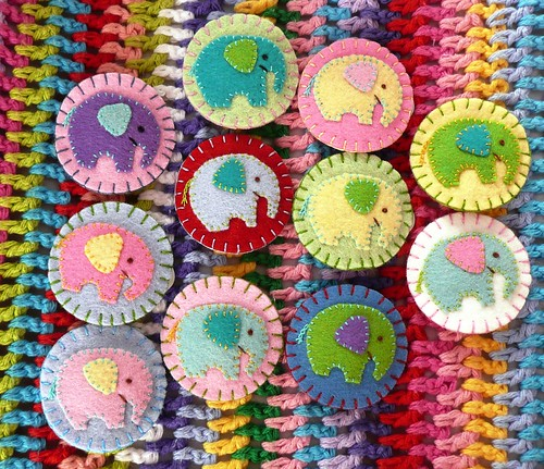 Elephant Hairclips