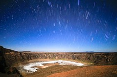 Volcanic Rain (Khaled A.K) Tags: sky mountain photography volcano sa jeddah saudiarabia khaled ksa startrail saudia taif infinestyle kashkari pleasetellmehowyoudidit maqlaatamia alwaaba