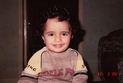 كححح غغغبرررة (| Rashid AlKuwari | Qatar) Tags: baby me kid little young mini 1986 doha qatar rashid qtr alkuwari lkuwari