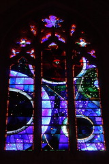 The moon window in the Washington National Cathedral. (How I See Life) Tags: washingtondc stainedglass nationalcathedral moonwindow