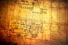 The Plan (Relucesco22) Tags: texture kara theatre plan architect weathered engineer floorplan sonya300 relucesco22