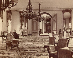 United States Hotel parlor Saratoga NY 1870's (gaswizard) Tags: lighting light art home lamp architecture vintage early movement baker post state crystal antique quality interior linden gothic towers bracket victorian double historic gas part capitol chandelier commercial repair bradley egyptian mitchell archer sconce cornelius fixture residential billiard period renaissance parlor reproduction refinishing newel vance rococo gaslight eastlake fellows starr genuine gilt revival hubbard aesthetic spelter gasolier pancoast gaslighting longwy ormolu antiquelighting gasalier gaselier