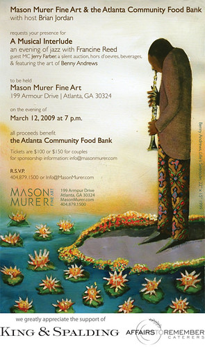 Atlanta Community Food Bank Benefit @ Mason Murer Gallery
