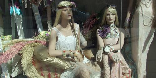 mannequins at Fashion Crimes