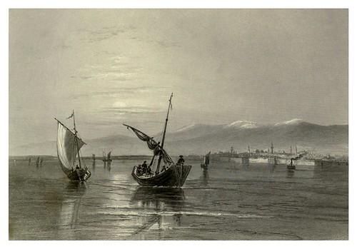 037-Los Balcanes cerca de Vidin 1844