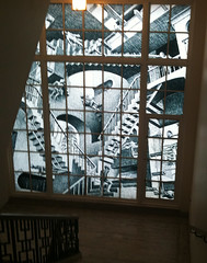 Escher Window at Portland Art Museum
