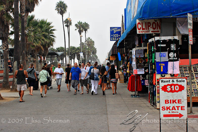 Venice Beach walk by Elisa Sherman   photosbyelisa.com