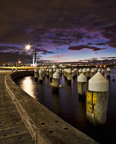 Victoria Harbour Promenade, Docklands
