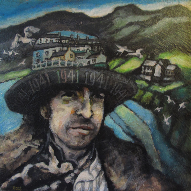 'Bob Dylan, Rossilli Bay' by Peter Ross