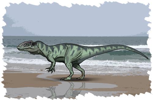 Carcharodontosaurid by Ezequiel Vera