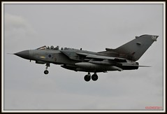 "TORNADO GR4A ZA405 014 ""ALIAN 3"" (Gaz West) Tags: 3 west wearing sign nose bars call 14 gaz 15 actually used crew land about but tornado picnik raf based squadron belonging alian lossiemouth coningsby gr4a canon50d gazwest za405 alian3 ghastlywhisper"