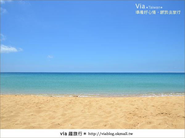 【澎湖沙灘】山水沙灘,遇到菊島的夢幻海灘!16