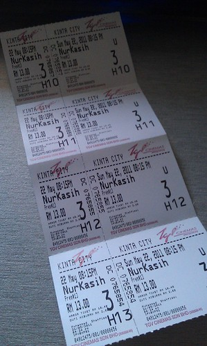 Tiket wayang Nur Kasih The Movie