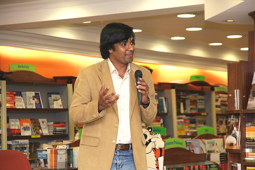 Kiruba Shankar of Business Blogging & Cookbook launch