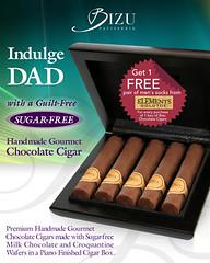 Bizu Chocolate Cigars