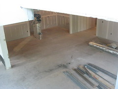 View from 2nd floor landing (DeSales MBA) Tags: mba construction lansdale desales merck newlocation desalesmba