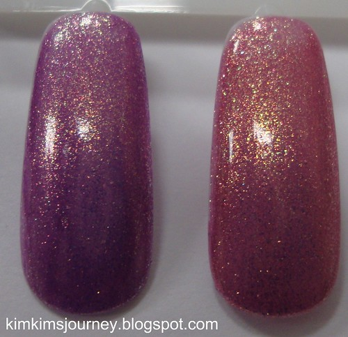 OPI - Its My Year vs Rally Pretty Pink