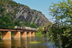 Harpers Ferry WV (brandonmuir304) Tags: train railway trains westvirginia harpersferry csx