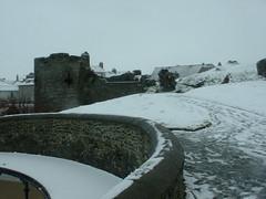 Aberystwyth Castle Under Snow Ceredigion Wales UK (aberystwyth-online) Tags: uk winter snow castle wales aberystwyth wintergarden wintersolstice winterpark wintersnow wintersport