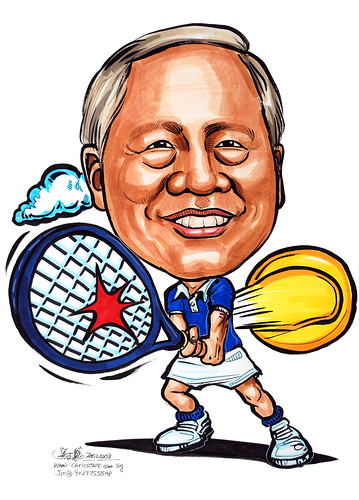 Caricature Tennis 280208