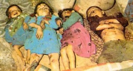 CHILDREN: Victims of Saddam Hussein and Chemical Ali's use of Weapons of Mass Destruction at Halabja, Iraq
