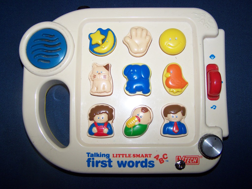 Vtech First Talking Words Circuit Bend