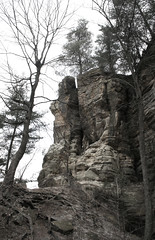 Near Owl Canyon Overlook, Starved Rock State Park, Utica, IL (mastodont) Tags: march illinois earlyspring starvedrockstatepark