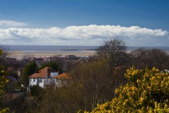 Above West Kirby, Wirral, England