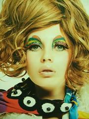 BEAUTY 60's JEALOUS (C H U A N) Tags: fashion magazine 60s makeup soen