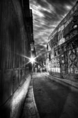 Ghost Town (Khaled A.K) Tags: longexposure blackandwhite bw photography saudi ghosts sa jeddah 11mm khaled hdr bnw ksa sigma1020mm   sigma1020   jiddah   saudiarabi  canoneos400d  oldjeddah