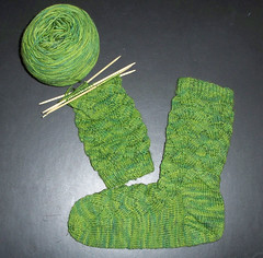 Monkey Sock - Second Sock