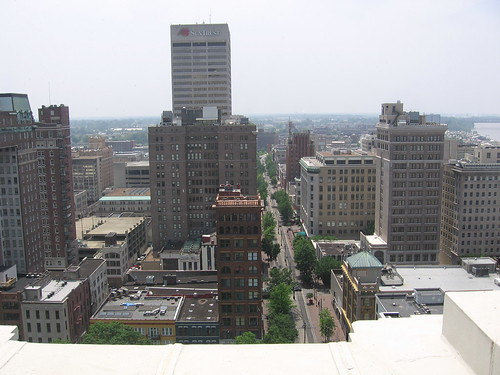 View from the Lincoln-American Tower