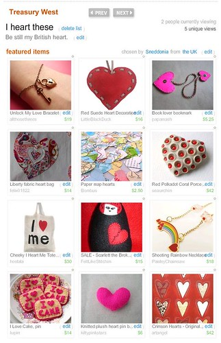 Treasury - I heart these