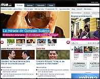 La nueva web de RTVE