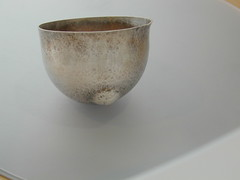 Figurative hand formed cups (Renee Ford Metals) Tags: chasing repousse holloware raisedvessel