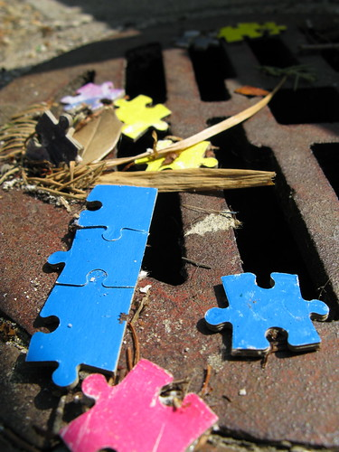 """Puzzle Pieces"" by Rob Pongsajapan"