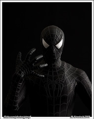 Spider of Darkness (Mishari Al-Reshaid Photography) Tags: toby blackandwhite art actionfigure eos japanese spiderman peterparker american superhero spidey canoneos soe marvelcomics excelsior mcguire q8 stanlee artphoto 24105 canonef24105f4l gtm canoncamera webslinger canoneflens imagestabilizer spiderman3 24105mm q80 webhead canonllens cableshutterrelease 40d ef24105 mishari spidermanmovie friendlyneighbourhoodspiderman blackspiderman canonef24105f4lis aplusphoto kuwaitphoto kuwaitphotos diamondclassphotographer flickrdiamond 580exii canoneos40d darkspiderman canon40d kvwc excapture kuwaitartphoto gtmq8 kuwaitart spidermanblack kuwaitvoluntaryworkcenter kuwaitvwc grendizer99 blacksuitspiderman canon580exiiflash kuwaitphotography grendizer99photos spidermanmovie3 misharialreshaid blacksymbiote canonspiderman usingliveview liveviewontheeos40d marvelhero spidermancollectible spideyfigure spiderofdarkness liveview40d malreshaid misharyalrasheed