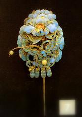 Chinese hair ornament (Kotomi_) Tags: costume birmingham chinese jewelry jewellery period hisorical hairornament birminghammuseum