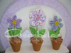 close (Andreza Muniz) Tags: flower art arte box handmade amor flor craft caixa fuxico corao patchwork tecido paninho