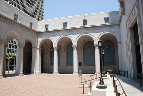 Los Angeles City Hall Forecourt