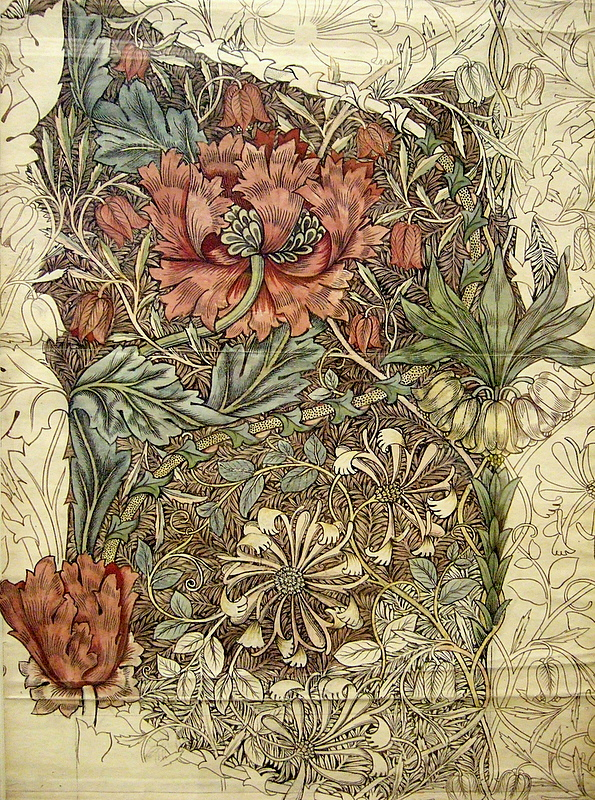 william morris heroes and - photo #6