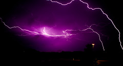 Lightning 2 (Loren Zemlicka) Tags: storm wisconsin night bolt thunderstorm lightning thunder fitchburg wisconsinthunderstorms