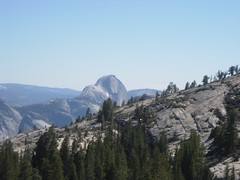 Half Dome as Seen From Olmstead Point