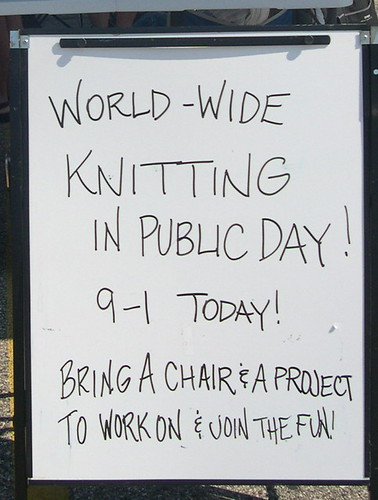 World Wide Knitting In Public Day
