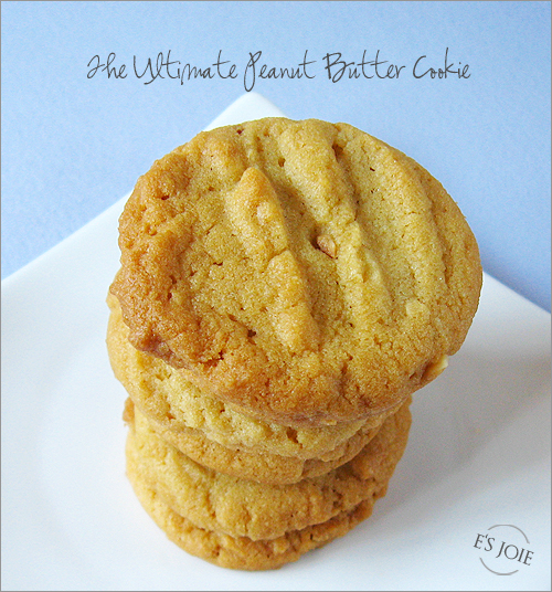 The Ultimate Peanut Butter Cookie | e's joie