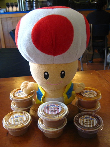 Toad hoards all the peanut butter