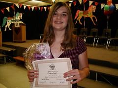 Christina's Grade 8 Grad