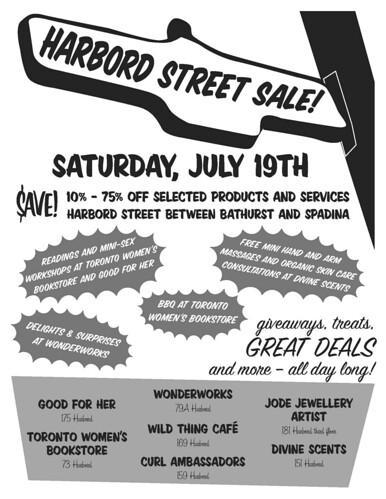 harbord street sale 2008