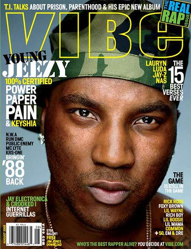 young jeezy vibe magazine august 2008 issue