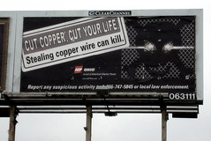 CUT COPPER, CUT YOUR LIFE